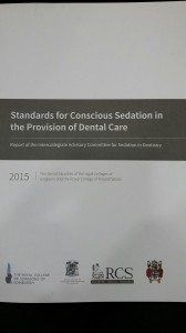 Standards fo Conscious Sedation